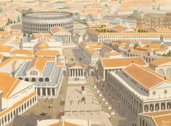 Rome by K-Bladin