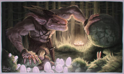 Under the Stone by K-Bladin