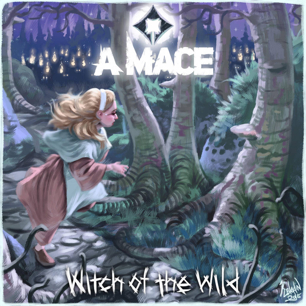 A Mace - Witch of the Wild by K-Bladin