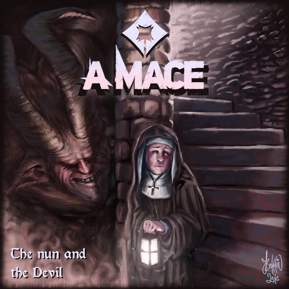A Mace - The Nun and the Devil by K-Bladin