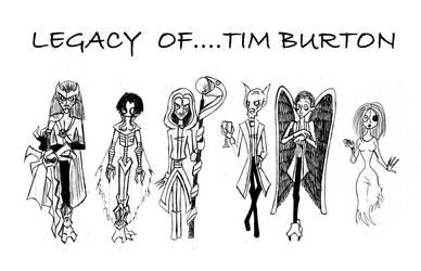 Legacy of... Tim Burton! by Klessidra
