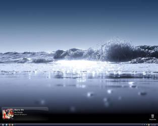 Cold Wave Desktop by XSV