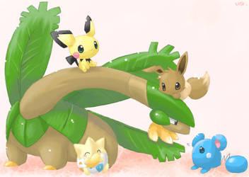 pokemon by inano2009