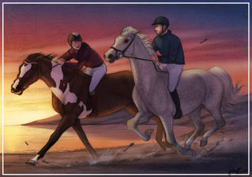 Race The Sunset by Shotechi