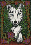 ACEO -The Plant Spirit- by CrescentMoon