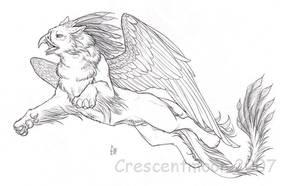 Phoenix Gryphon by CrescentMoon