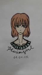 Girl -Portrait by Sharingirl