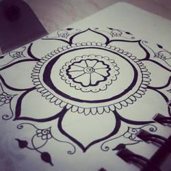 Henna art by Sharingirl