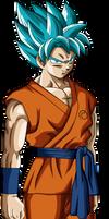 Goku SSJ God SSJ - Render V2 by ShikoMT