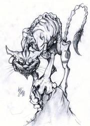 Cheshire Cat by EllisonPav