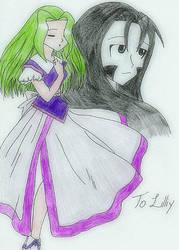 Christmas Gift- Liliy by Rho-sama