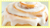 Iced Cinnamon Roll Stamp by VixessRin