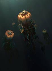 Halloween art by An9reyART