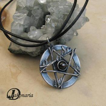 Fire pentacle by drakonaria