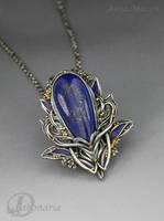 Cobalt Fairy by drakonaria