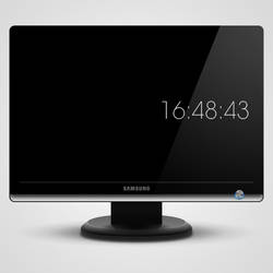 clock screensaver by marcarnal