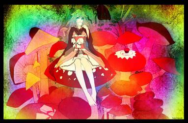 poisonous mushroom by hachiyuki