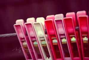 Pink Pegs by edit-express