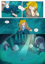Down The Rabbit Hole  by AnnaLeighArtz