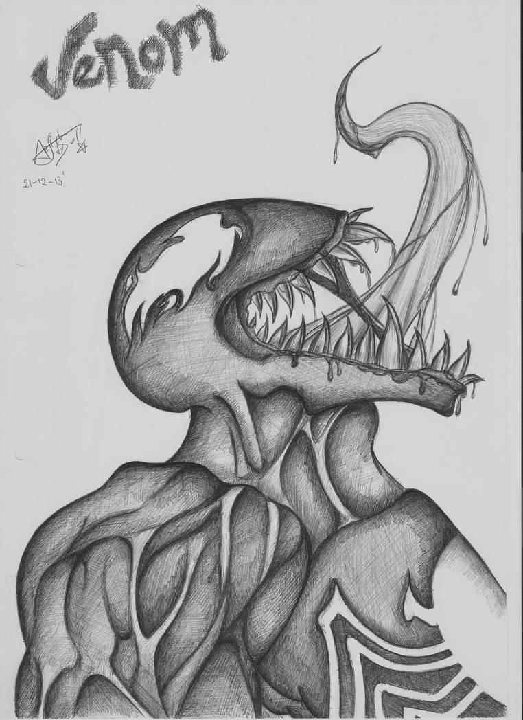 Venom - Ultimate spider (Re-Uploaded) by Arsiekdhol