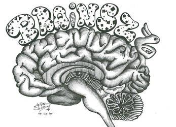 Brain Doodle by Arsiekdhol