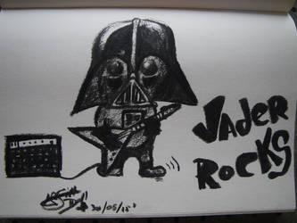 Vader Rocks by Arsiekdhol
