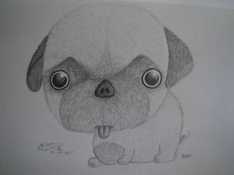 Big Head Puppy by Arsiekdhol
