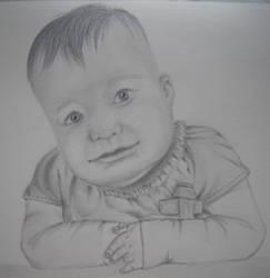baby portrait by Arsiekdhol