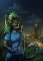 Night City by jrtracey