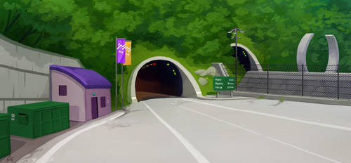 Dekanji tunnel by jrtracey