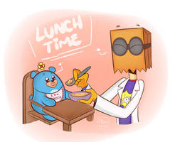 - Lunchtime - by Nievita