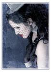 Blue Burlesque I by VenjaPhotography