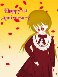 1st year Anniversary by TashaShazali