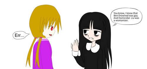 Sally Lakry And Me (collab with PastelKawaii333) by TashaShazali