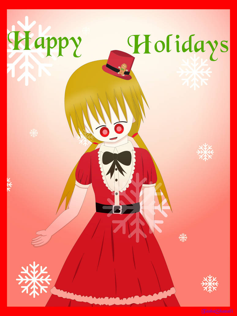 I wish you Happy Holidays! by TashaShazali