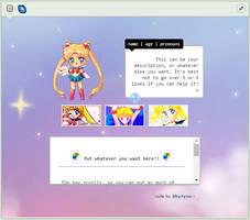 [F2U] Custom Box: Sailor Moon by SkyJynx
