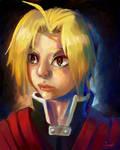 Fullmetal Alchemist:Edward Elric by Zeighous