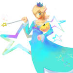 Rosalina And Luma by Zeighous