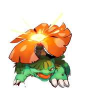Venusaur Used Solarbeam by Zeighous