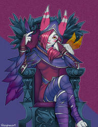 LoL: Xayah by Zeighous