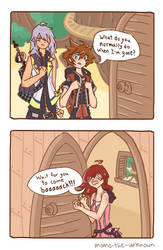 What do you normally do when I'm gone? by Momo-The-Unknown