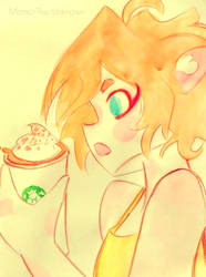 chilly pumpkin spice vibes by Momo-The-Unknown