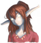 WoW: night elf druid by jinnybear