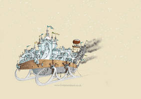 Mortal Engines - Anchorage by sketchy-doodles