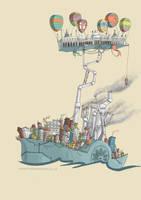 Mortal Engines - Brighton by sketchy-doodles