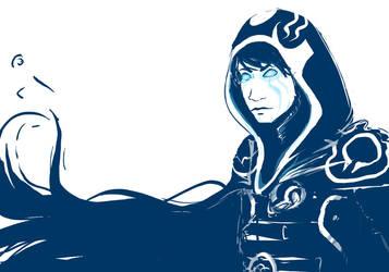Blue Jace by sketchy-doodles