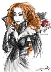 Olivia Voldaren by sketchy-doodles