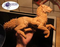 WIP: Ren Fair - Sculpture by Escaron