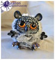 Owlet - OOAK Doll (SOLD) by Escaron