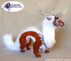 Serph the Spirit Guardian - Doll by Escaron